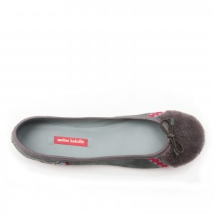 BIZI MOUSE BALLET - GREY