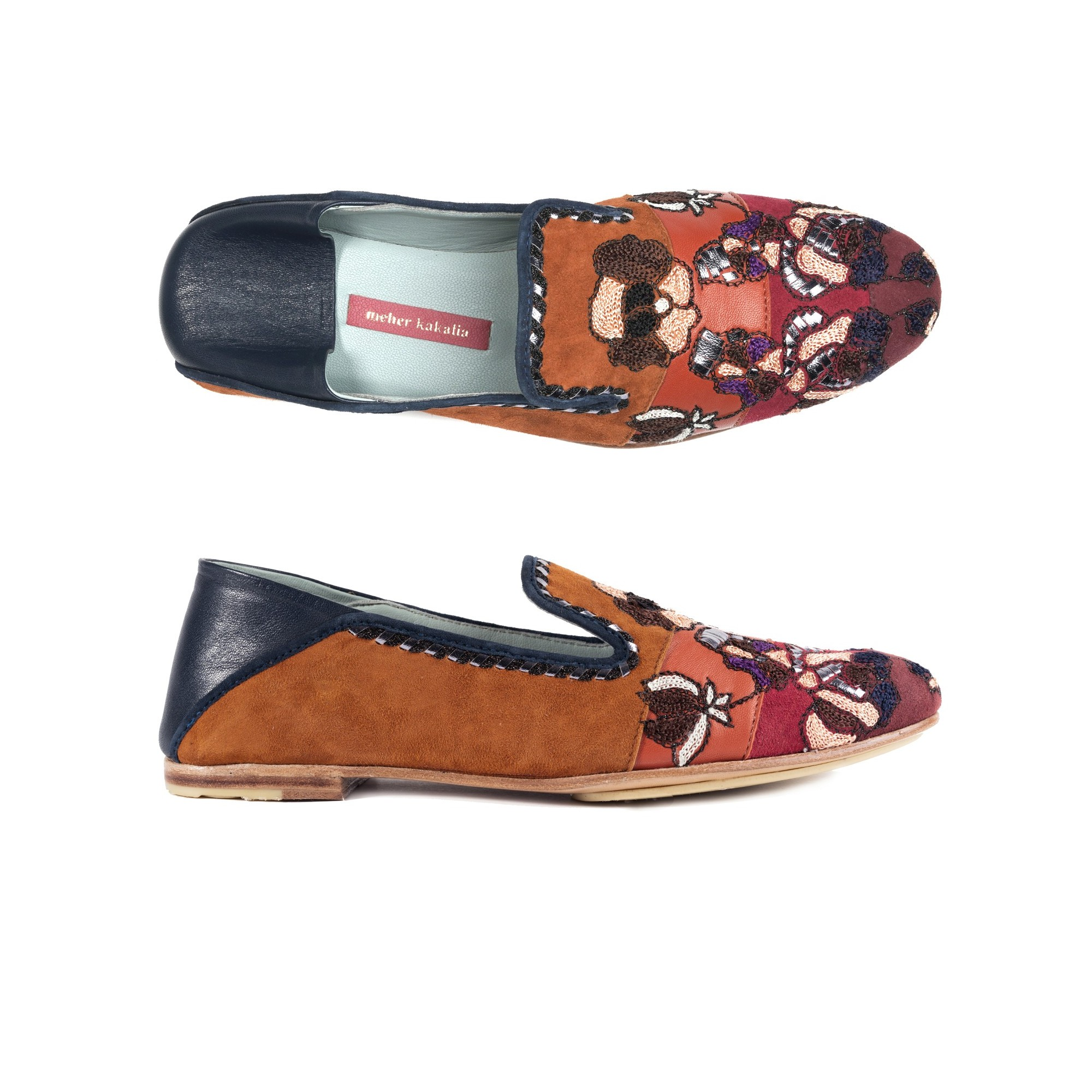 FRIDA MOCCASIN - MULTI RED