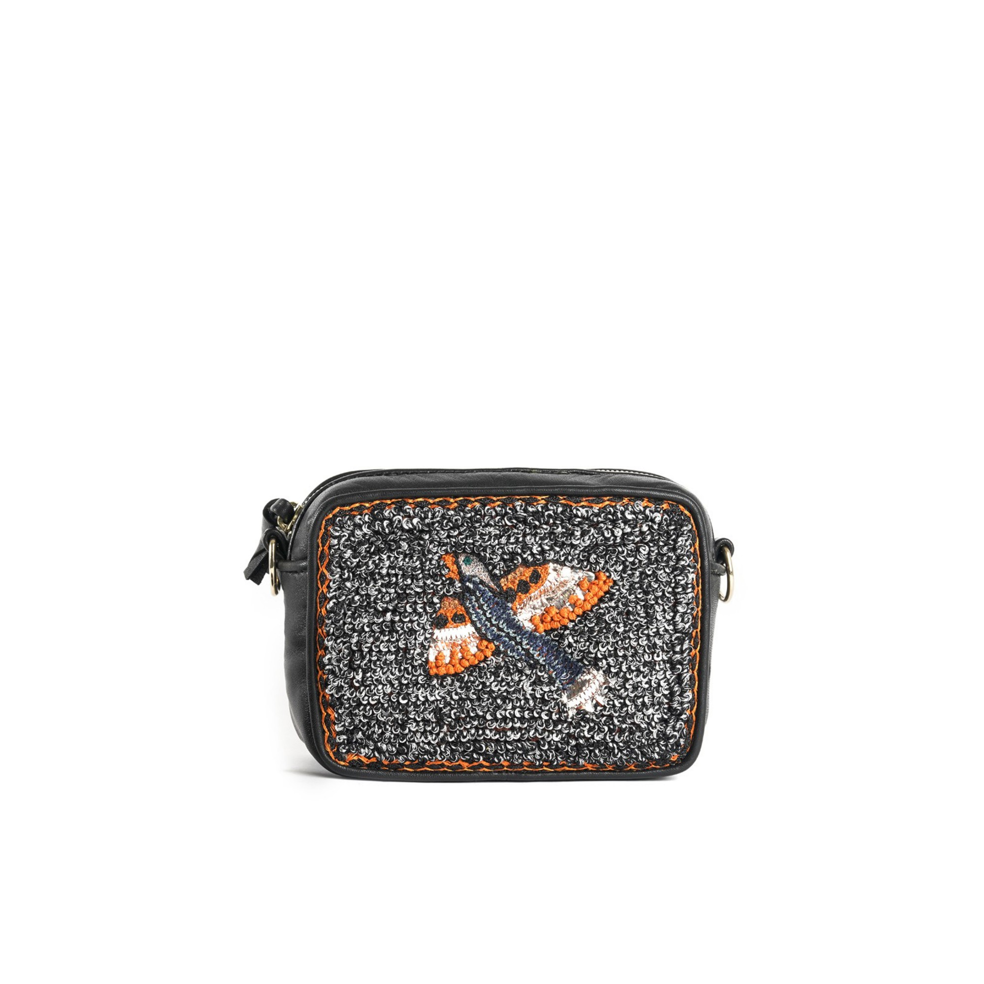 BIRD MINI CAMERA BAG - GREY