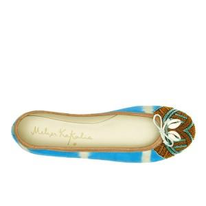 BIZI BALLET - td ivory blue/cebu shell