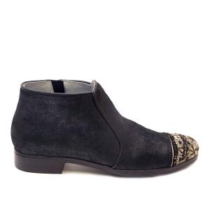 LIGETTI BOOT - shiny black/black gold